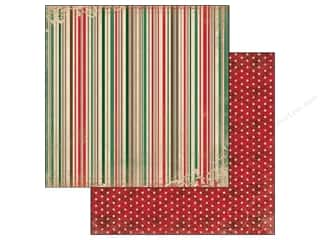 Bo Bunny Paper 12x12 Rejoice Stripe (25 piece)