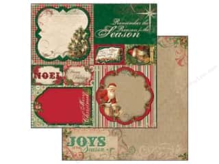 Bo Bunny Paper 12x12 Rejoice The Season (25 piece)