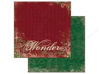Bo Bunny Paper 12x12 Rejoice Wonder (25 piece)