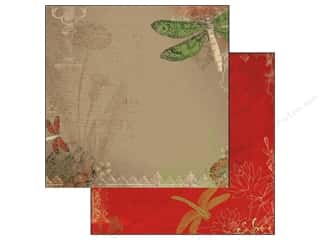 Bo Bunny Paper 12x12 Serenade Dragonfly (25 piece)