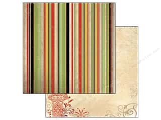 Bo Bunny Paper 12x12 Serenade Stripe (25 piece)