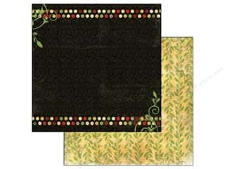 Bo Bunny 12 x 12 in. Paper Serenade Vines (25 piece)