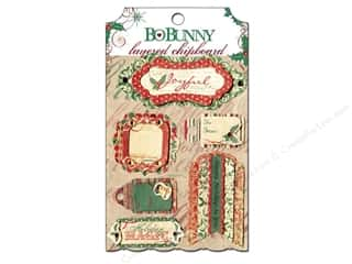 Bo Bunny Sticker Chipboard Layered Rejoice