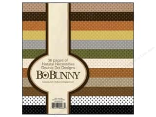 "Bo Bunny Paper Pad 6""x 6"" Double Dot Natural"