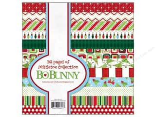 Bo Bunny Paper Pad 6&quot;x 6&quot; Mistletoe