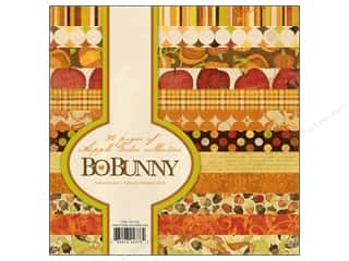 Scrapbooking & Paper Crafts: Bo Bunny 6 x 6 in.  Paper Pad Apple Cider