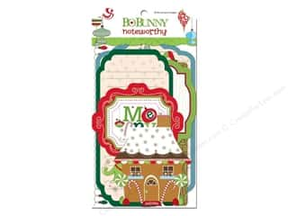 Bo Bunny Noteworthy Journal Card Mistletoe