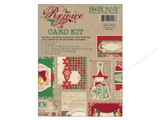 Blank Card & Envelopes: Bo Bunny Card Kit Rejoice