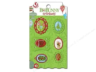 Bo Bunny Trinkets Mistletoe