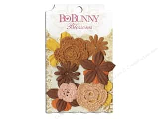 Bo Bunny Flower Blossom Bouquet Harvest Orange