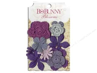 Bo Bunny Blossoms Bouquet Plum Purple