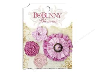 Bo Bunny $4 - $8: Bo Bunny Blossoms Dahlia 4 pc. Blush