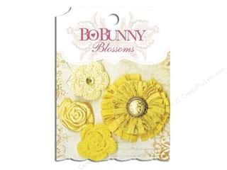 Bo Bunny Blossoms Dahlia 4 pc. Buttercup
