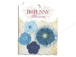 Bo Bunny Blossoms Dahlia Denim Blue