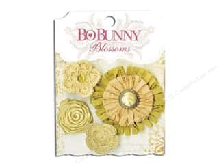Bo Bunny Blossoms Dahlia Natural Earth