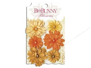 Bo Bunny Flower Blossom Daisy Harvest Orange