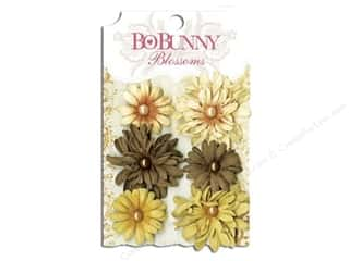Bo Bunny Flower Blossom Daisy Natural Earth