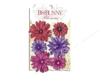Bo Bunny Blossoms Daisy Plum Purple