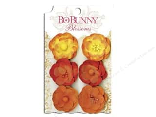 Bo Bunny Flower Blossom Pansy Harvest Orange