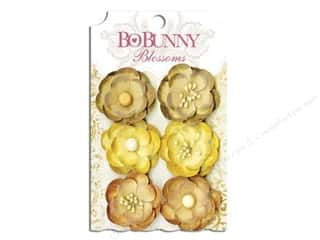 Bo Bunny Blossoms Pansy 6 pc. Natural Earth