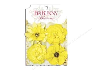 weekly specials buttercup: Bo Bunny Blossoms Zinnia Buttercup