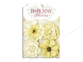 Bo Bunny Blossoms Zinnia 4 pc. Natural Earth