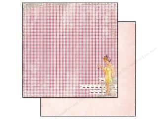 Glitz Design 12 x 12 in. Paper Cashmere Dame Gingham (25 piece)