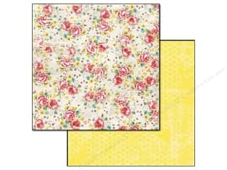 Glitz Design Paper 12x12 Cashmere Dame Floral (25 piece)
