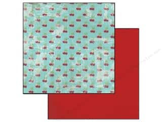 Glitz Design 12 x 12 in. Paper Cashmere Dame Cherries (25 piece)