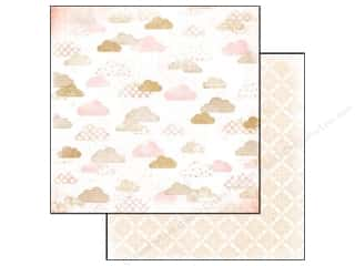 Glitz Design Paper 12x12 Hello Friend Clouds (25 piece)