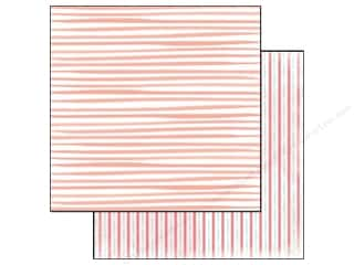Glitz Design Paper 12x12 Hello Friend Stripe (25 piece)
