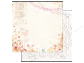 Glitz Design Paper 12x12 Hello Friend Bokeh (25 piece)