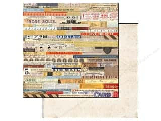 Glitz Design 12 x 12 in. Paper Yours Truly Ephemera (25 piece)