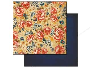 Glitz Design 12 x 12 in. Paper Yours Truly Floral (25 piece)