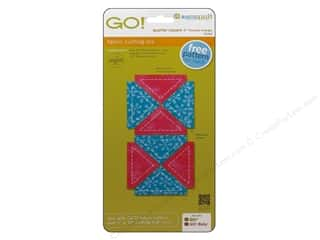 AccuQuilt Go Die Quarter Square Finish Triangle 2&quot;