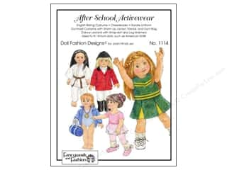 School Doll Making: Fancywork & Fashion After School Activewear Pattern