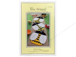 Susie C Shore Designs $2 - $5: Susie C Shore Bee Happy Place Mat/Table Runner Pattern