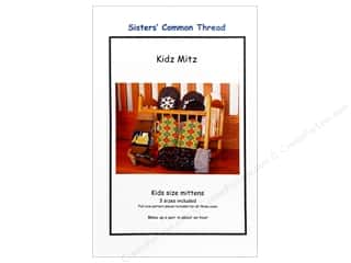 Sisters' Common Thread Wool & Wool Felt Patterns: Sisters' Common Thread Kidz Mitz Pattern