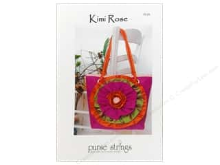 Tote Bag Flowers: Purse Strings Kimi Rose Pattern