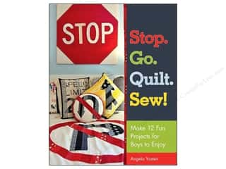 Stash By C&T Stop Go Quilt Sew Book