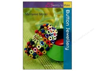 Hot off the Press Beading & Jewelry Books: Search Press Twenty To Make Button Jewellery Book