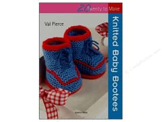 Twenty To Make Knitted Baby Bootees Book