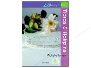 Taunton Press Beading & Jewelry Books: Search Press Twenty To Make Tiaras & Hairpins Book