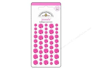 Doodlebug Sticker Large Jewels Bubblegum