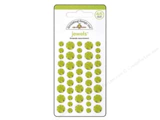 Doodlebug Sticker Large Jewels Limeade