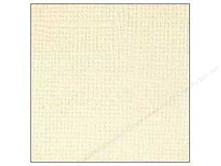 Doodlebug Cream/Natural: Doodlebug Paper 12 x 12 in. Textured Almond (25 pieces)