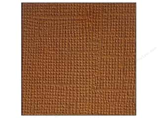 Doodlebug Brown: Doodlebug Paper 12 x 12 in. Textured Bon Bon (25 pieces)