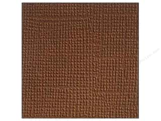 Doodlebug Brown: Doodlebug Paper 12 x 12 in. Textured Chocolate Chip (25 pieces)