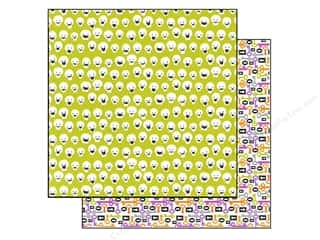 Doodlebug Paper 12x12 Haunted Manor Funny Bones (25 piece)