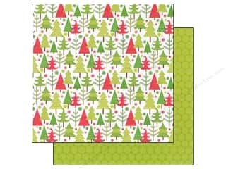 Doodlebug Paper 12x12 North Pole Playful Pines (25 piece)